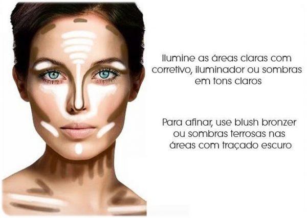 Como afinar o rosto com maquiagem ( Passo a passo )