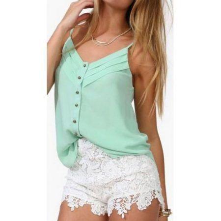 blusinhas de chiffon 450x450 AS BLUSINHAS FEMININAS DE VERÃO em suas estampas e modelitos estilosos
