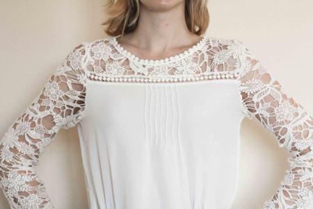 blusinhas de renda