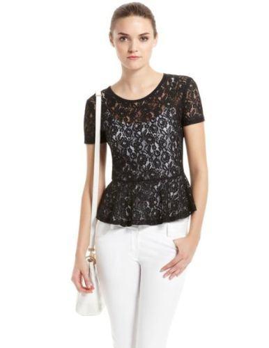 blusinhas de renda preta