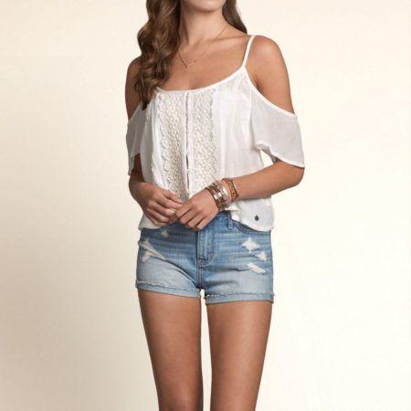 blusinhas femininas chique da moda 450x450 AS BLUSINHAS FEMININAS DE VERÃO em suas estampas e modelitos estilosos