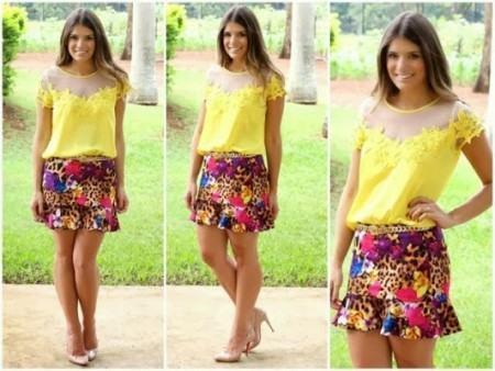 blusinhas femininas de verao 450x338 AS BLUSINHAS FEMININAS DE VERÃO em suas estampas e modelitos estilosos