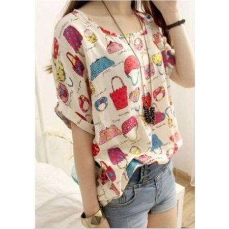 blusinhas femininas de verao com estampas
