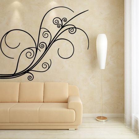decoracao com adesivos Conheça os Adesivos decorativos de parede mais legais, 2 Tutoriais para colar os adesivos