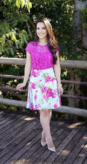 imagem 25 1 Lindas Blusas femininas com renda pra usar com calça ou saia, veja looks