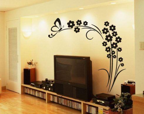 imagem 25 2 490x388 Conheça os Adesivos decorativos de parede mais legais, 2 Tutoriais para colar os adesivos