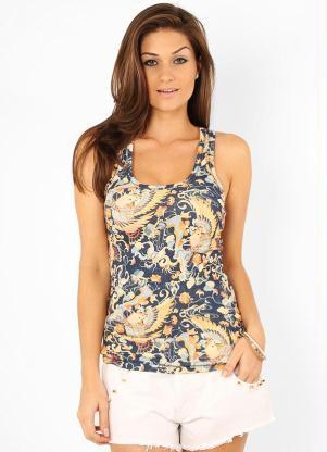 imagem 5 Blusinhas femininas estampadas: Ombro vazado, manga longa, regatinha, tomara que caia