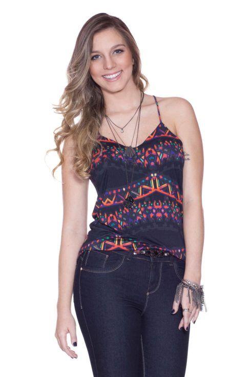 imagem 6 490x736 Blusinhas femininas estampadas: Ombro vazado, manga longa, regatinha, tomara que caia