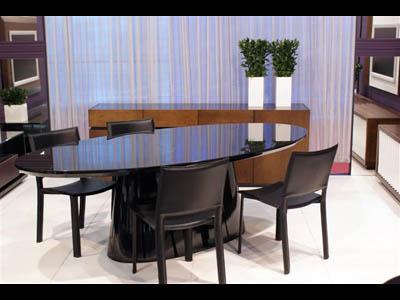 mesa de jantar oval 4 lugares Tipos de MESAS DE 4 CADEIRAS para jantar em família
