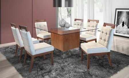mesas de jantar 6 cadeiras com cadeira bem confortavel