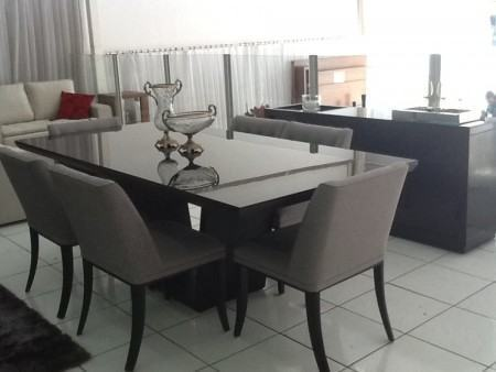 mesas de jantar 6 cadeiras confortaveis