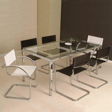 mesas de jantar 6 cadeiras moderna