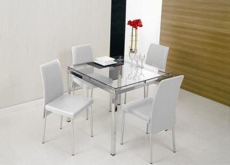 Modelos de mesas pequenas de jantar quadradas redondas for Mesas para ordenador pequenas