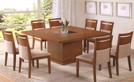 mesas de jantar com 8 cadeiras