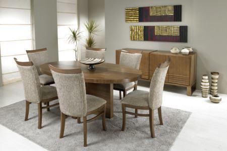 mesas de jantar oval para sala