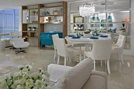 mesas de jantar redondas modernas