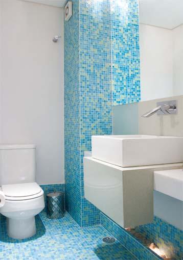 pastilhas decorativas para banheiros no chao e parede Pastilhas para banheiro decorativas ideais revestir as paredes