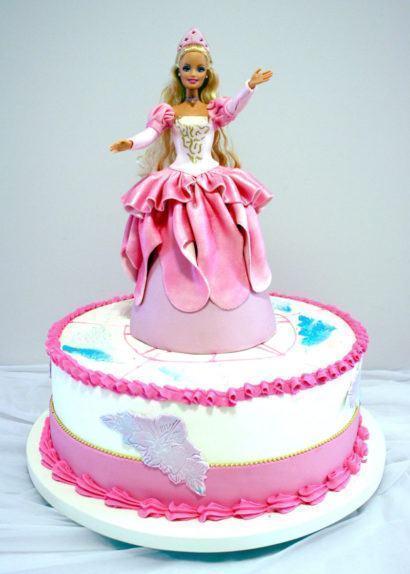 aniversario infantil 410x574 Bolos decorados para aniversários e festas (Infantil ou adulto)