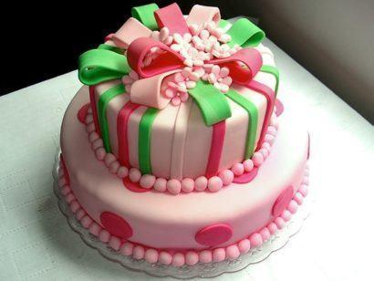 bolo de aniversario pasta americana 410x308 Bolos decorados para aniversários e festas (Infantil ou adulto)