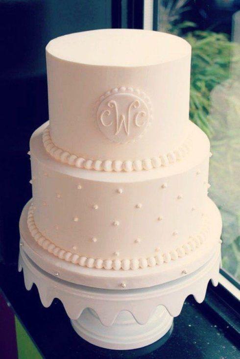 bolo de casamento com pasta americana lindo