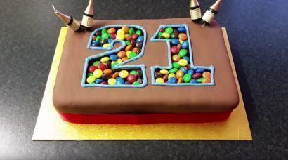 bolo de niver 1 410x228 Bolos decorados para aniversários e festas (Infantil ou adulto)