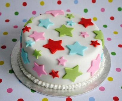 bolo decorados para aniversario infantil 410x338 Bolos decorados para aniversários e festas (Infantil ou adulto)