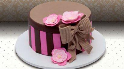 bolos decorados para anivers%C3%A1rio 410x228 Bolos decorados para aniversários e festas (Infantil ou adulto)