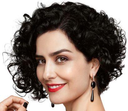 cortes de cabelo curto crespo moderno