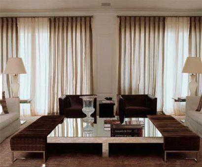 cortinas para sala de estar 410x339 Tipos de CORTINA PARA SALA DE ESTAR, Persianas, Varão e muito mais