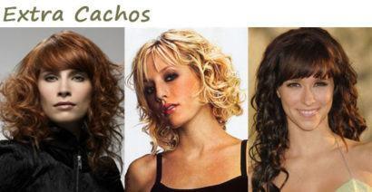 curtes curtos de cabelos com cachos e franjas