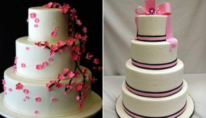 de aniversario 3 andares 410x236 Bolos decorados para aniversários e festas (Infantil ou adulto)