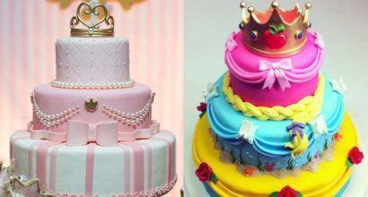 decoardo infantil 410x220 Bolos decorados para aniversários e festas (Infantil ou adulto)