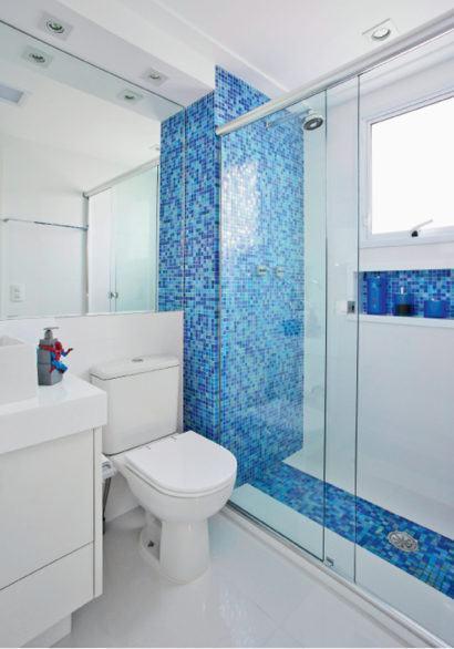 fotos de banheiros com pastilha azul