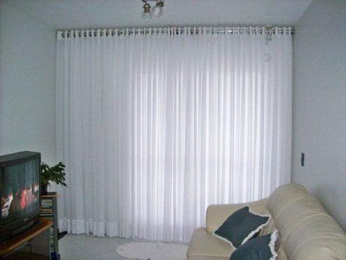 Cortinas de var o para sala e outros ambientes da - Diferentes modelos de cortinas para sala ...