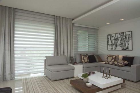 imagem 19 1 490x327 CORTINAS DE ENROLAR PARA SALA as famosas cortinas Rolô