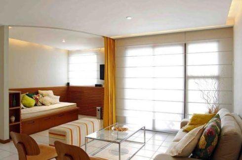 imagem 21 1 490x324 CORTINAS DE ENROLAR PARA SALA as famosas cortinas Rolô
