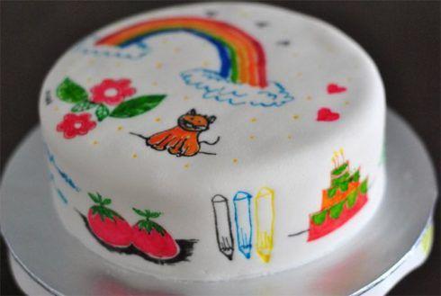 imagem 21 4 490x329 Bolos decorados para aniversários e festas (Infantil ou adulto)