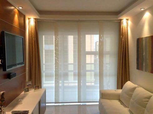imagem 22 1 490x368 CORTINAS DE ENROLAR PARA SALA as famosas cortinas Rolô