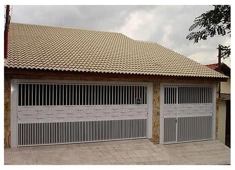 imagem 23 4 Tipos de portão para garagem do carro residencial