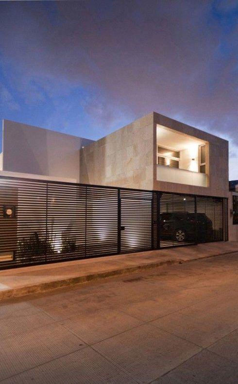 imagem 24 5 490x790 Tipos de portão para garagem do carro residencial