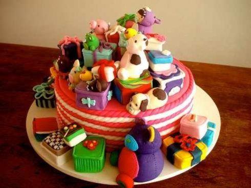 imagem 26 5 490x367 Bolos decorados para aniversários e festas (Infantil ou adulto)