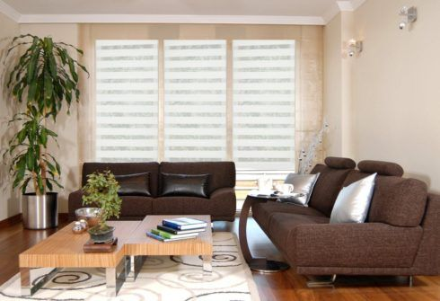 imagem 6 490x335 CORTINAS DE ENROLAR PARA SALA as famosas cortinas Rolô
