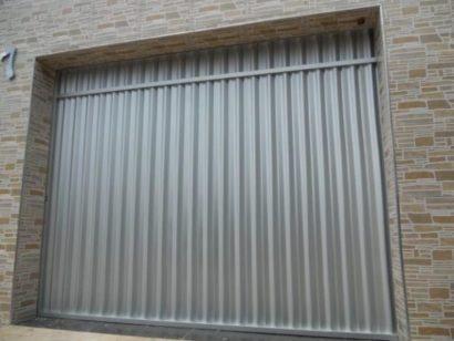 portao de aluminio para garagem