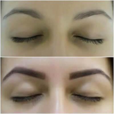 sobrancelha de henna antes e depois 2 Como fazer sobrancelha com henna passo a passo