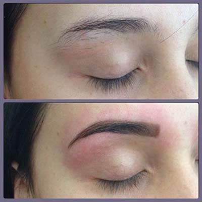 sobrancelha de henna antes e depois 3 Como fazer sobrancelha com henna passo a passo