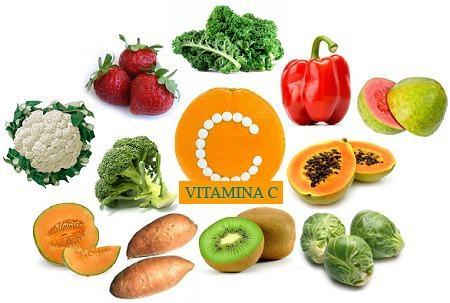 Benefícios da vitamina C para a saúde, alimentos