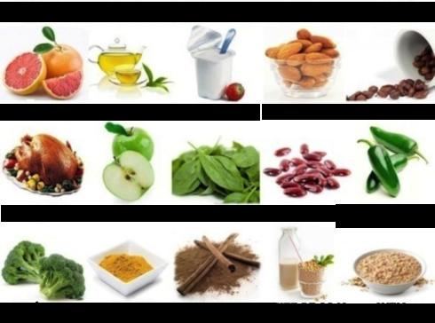 alimentos para acelerar o metabolismo 490x364 Alimentos para acelerar o metabolismo e auxiliam na perca de peso