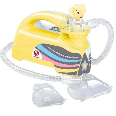 inalador ultrassonico 490x490 Como fazer nebulização em recém nascido com gripe