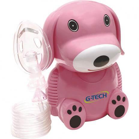 nebulizador a ar comprimido g tech nebdog bivolt rosa Como fazer nebulização em recém nascido com gripe