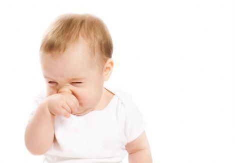 Recém nascido com gripe e tosse e nariz entupido o que fazer